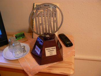 Putovní pohár pro vítězný tým